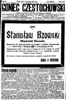 Goniec Częstochowski, 1920, R. 15, No 6