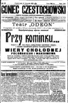 Goniec Częstochowski, 1920, R. 15, No 18
