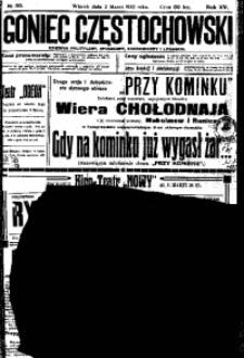 Goniec Częstochowski, 1920, R. 15, No 50