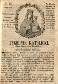 Tygodnik Katolicki, 1849, nr 55