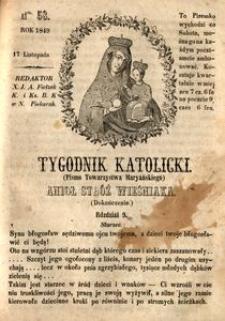 Tygodnik Katolicki, 1849, nr 58