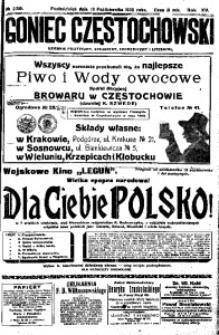 Goniec Częstochowski, 1920, R. 15, No 239