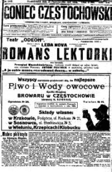 Goniec Częstochowski, 1920, R. 15, No 245