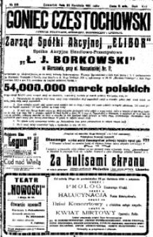 Goniec Częstochowski, 1921, R. 16, No 89