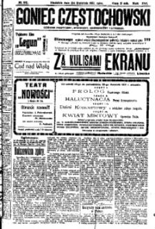 Goniec Częstochowski, 1921, R. 16, No 92
