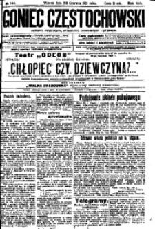 Goniec Częstochowski, 1921, R. 16, No 144