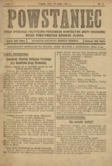 Powstaniec, 1921, R. 1, nr 5