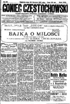 Goniec Częstochowski, 1922, R. 17, No 24