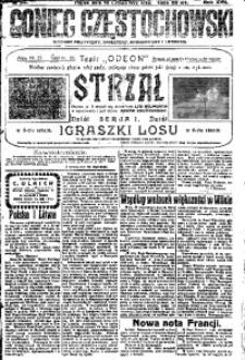 Goniec Częstochowski, 1922, R. 17, No 33