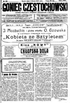 Goniec Częstochowski, 1922, R. 17, No 49