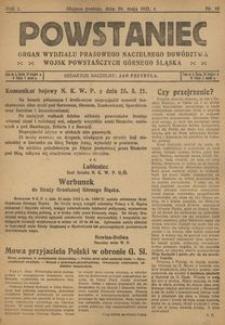 Powstaniec, 1921, R. 1, nr 10