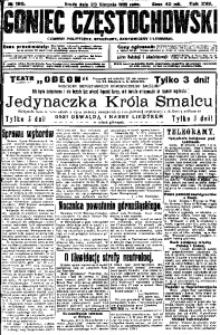 Goniec Częstochowski, 1922, R. 17, No 190