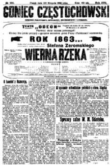 Goniec Częstochowski, 1922, R. 17, No 192