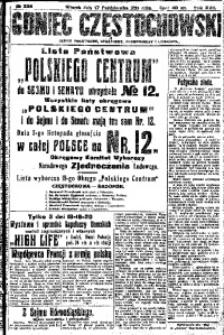 Goniec Częstochowski, 1922, R. 17, No 236