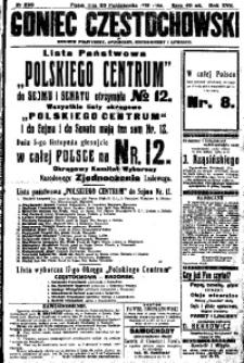 Goniec Częstochowski, 1922, R. 17, No 239