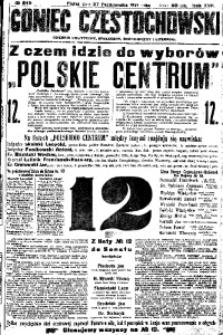 Goniec Częstochowski, 1922, R. 17, No 245