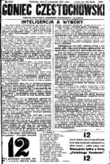 Goniec Częstochowski, 1922, R. 17, No 252