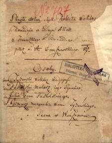 Skryte drzwi, czyli Kobieta doktor. Komedyia w iednym akcie z francuzkiego P. Bernarda przez L. A. Dmuszewskiego. 1817