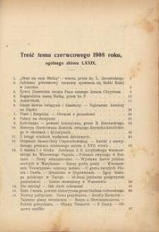 Dzwonek Częstochowski : pismo miesięczne, illustrowane. 1908, [R.8], [T.6](79) - czerwiec
