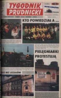 Tygodnik Prudnicki : gazeta powiatowa : Prudnik, Biała, Głogówek, Lubrza. R. 10, nr 27 (450).