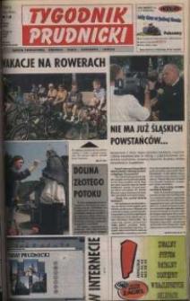 Tygodnik Prudnicki : gazeta powiatowa : Prudnik, Biała, Głogówek, Lubrza. R. 10, nr 29 (452).