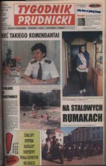Tygodnik Prudnicki : gazeta powiatowa : Prudnik, Biała, Głogówek, Lubrza. R. 10, nr 31 (454).