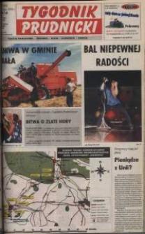 Tygodnik Prudnicki : gazeta powiatowa : Prudnik, Biała, Głogówek, Lubrza. R. 10, nr 32 (455).