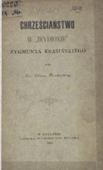 """Chrześciaństwo w """"Irydionie"""" Zygmunta Krasińskiego"""