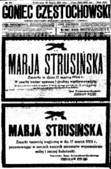 Goniec Częstochowski, 1924, R. 19, No 66