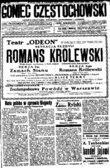 Goniec Częstochowski, 1924, R. 19, No 81