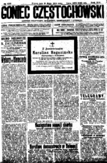 Goniec Częstochowski, 1924, R. 19, No 105