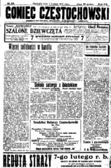 Goniec Częstochowski, 1925, R. 20, No 26