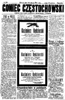 Goniec Częstochowski, 1925, R. 20, No 69