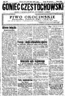 Goniec Częstochowski, 1925, R. 20, No 113
