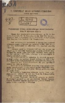 V. Komunikat Biura Konserwatorskiego Galicyi Zachodniej
