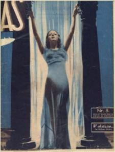 As. Ilustrowany magazyn tygodniowy, 1936, R. 2, nr 8