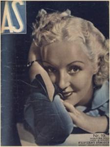 As. Ilustrowany magazyn tygodniowy, 1936, R. 2, nr 19