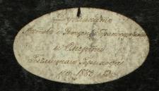 Wtóropis księgi urodzeń, małżeństw i zgonów 1883