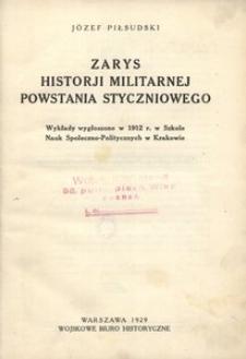 Zarys historjii militarnej powstania styczniowego