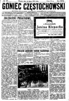 Goniec Częstochowski, 1932, R. 27, No 157