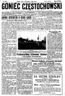 Goniec Częstochowski, 1932, R. 27, No 201