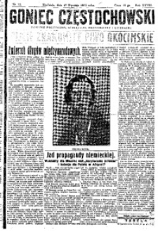 Goniec Częstochowski, 1933, R. 28, No 12