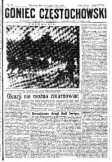 Goniec Częstochowski, 1933, R. 28, No 41