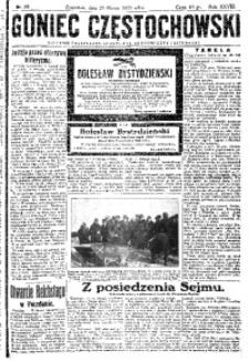 Goniec Częstochowski, 1933, R. 28, No 68