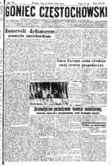 Goniec Częstochowski, 1933, R. 28, No 155