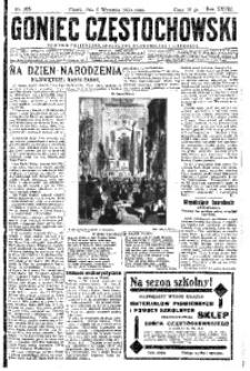 Goniec Częstochowski, 1933, R. 28, No 205