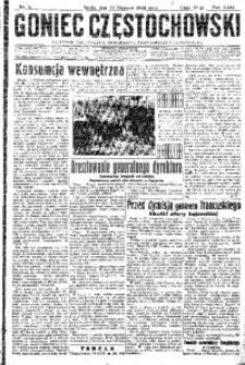 Goniec Częstochowski, 1934, R. 29, No 6