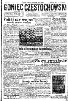Goniec Częstochowski, 1934, R. 29, No 8