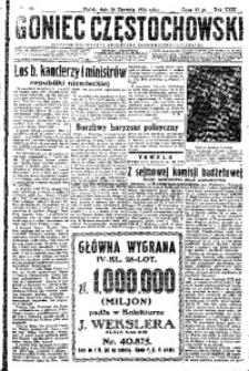Goniec Częstochowski, 1934, R. 29, No 20