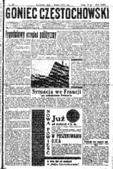 Goniec Częstochowski, 1934, R. 29, No 48